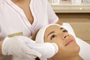 <strong>Laser hair removal </strong>in professional studio.